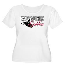 Snowmobile Goddess T-Shirt
