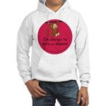 Nuts and sesame-allergy alert Hooded Sweatshirt