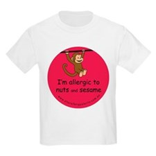 Nuts and sesame-allergy alert T-Shirt