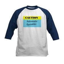 Caution! Automatic Sprinkler Tee
