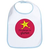 allergic to gluten Bib