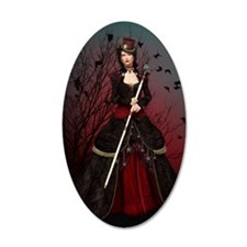 Dark Lady Wall Decal