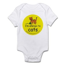 I'm allergic to cats Infant Bodysuit