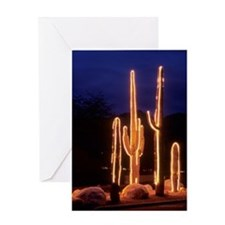 Cute Christmas light Greeting Card