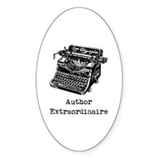 Author Extraordinaire Decal