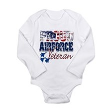 ProudAirForceVeteran Body Suit