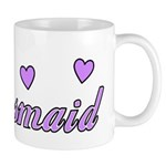 Bridesmaid Hearts Mug