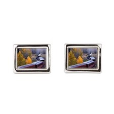 Around the Bend Rectangular Cufflinks