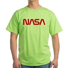 NASA Worm Logo T-Shirt