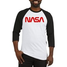 NASA Worm Logo Baseball Jersey