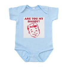 Are you my daddy? Boy desig Infant Bodysuit
