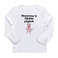 Mommys Little Piglet Long Sleeve T-Shirt