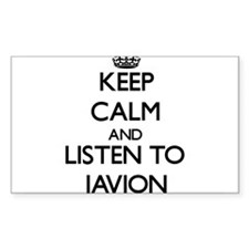 Keep Calm and Listen to Javion Decal