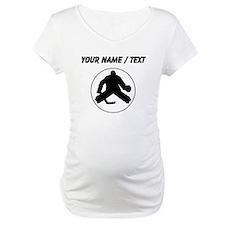 Custom Hockey Goalie Circle Shirt