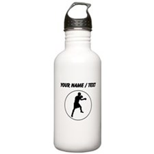 Custom Boxer Circle Water Bottle