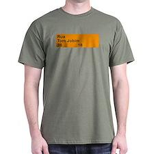 Rua Tom Jobim, Rio de Janeiro (BR) T-Shirt