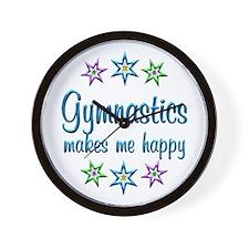 Gymnastics Happy Wall Clock