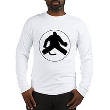 Hockey Goalie Circle Long Sleeve T-Shirt