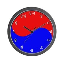 Korean Colour Wall Clock