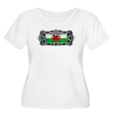 Proud To Be Welsh Plus Size T-Shirt