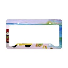 Surf'S Up License Plate Holder