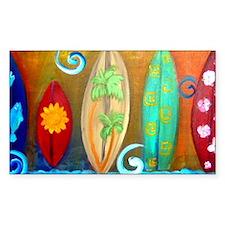 Surfboard art Decal