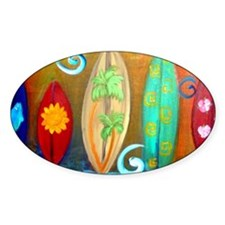 Funny Surfboards Decal