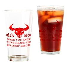Deja Moo Drinking Glass