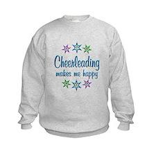 Cheerleading Happy Sweatshirt