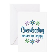 Cheerleading Happy Greeting Cards (Pk of 10)