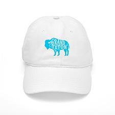 Grand Teton Buffalo Baseball Cap