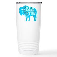 Grand Teton Buffalo Thermos Mug