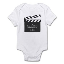 Cute Baby triplet Infant Bodysuit