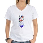 Beautiful Balance Women's V-Neck T-Shirt