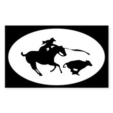 Funny Quarter horses Decal