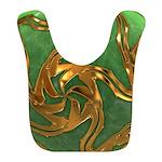 Faberge's Jewels - Green Bib