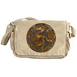 Faberge's Jewels - Grey Messenger Bag
