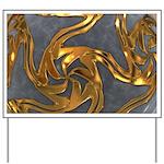 Faberge's Jewels - Grey Yard Sign