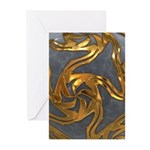 Faberge's Jewels - Grey Greeting Cards (Pk of 20)