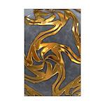Faberge's Jewels - Grey Mini Poster Print