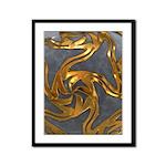 Faberge's Jewels - Grey Framed Panel Print