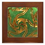 Faberge's Jewels - Green Framed Tile