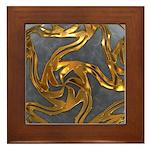 Faberge's Jewels - Grey Framed Tile