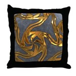Faberge's Jewels - Grey Throw Pillow