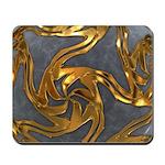 Faberge's Jewels - Grey Mousepad