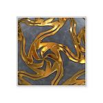Faberge's Jewels - Grey Square Sticker 3