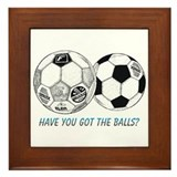Got the balls? Framed Tile