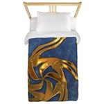 Faberge's Jewels - Blue Twin Duvet