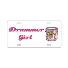 Funny Girl band Aluminum License Plate