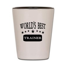 World's Best Trainer: Shot Glass